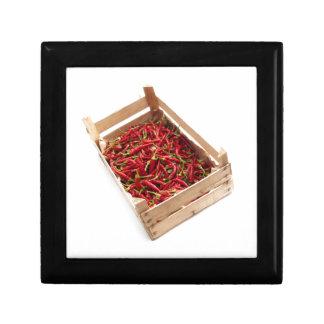 Kiste Chili Geschenkbox