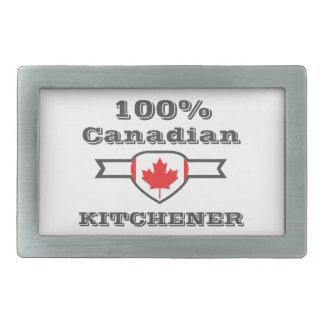 Kitchener 100% rechteckige gürtelschnallen