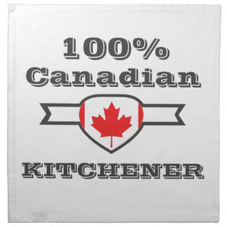 Kitchener 100% stoffserviette