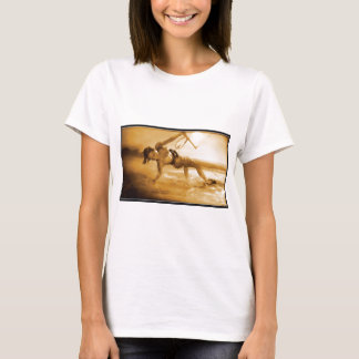Kiteboarding Mädchen T-Shirt