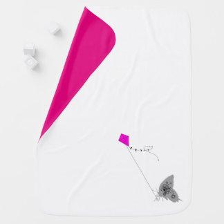 Kiteflying Schmetterlings-Baby-Decke Babydecke