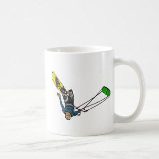 kitesurfer kaffeetasse