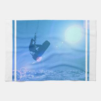 Kitesurfing Luft-Geschirrtuch Handtuch