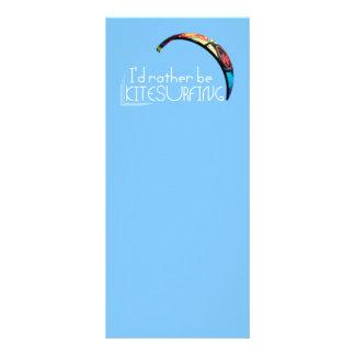 Kitesurfing Werbekarte