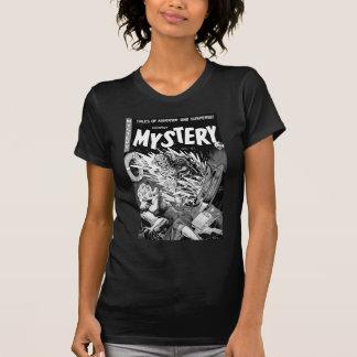 Kitsch-Vintager Comic-Buch-Herr Mystery Shirt