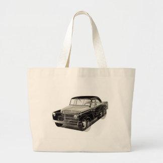 Kitsch-Vintages Auto 'der Sieg Car Jumbo Stoffbeutel