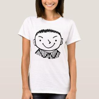 Kitsch-Vintages Kind 'intelligentes Alec T-Shirt
