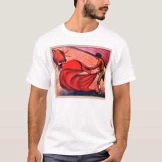 KitschVintages Retro Bullfight-Matador-EL Toro T-Shirt