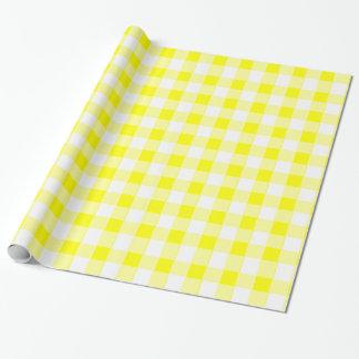Kitschy gelbe Tischdecke Geschenkpapier