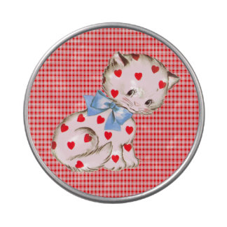 Kitschy Miezekatze Süßigkeitenbox