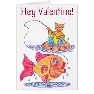Kitschy Valentinstag-Karte