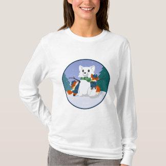 Kitsune Schnee-Tageslicht-Shirts T-Shirt
