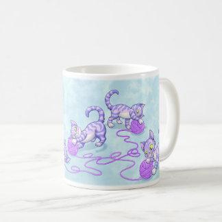 Kittipurra lila kaffeetasse