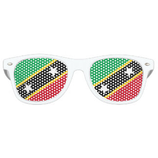 Kitts- und Nevis-Flagge Sonnenbrille
