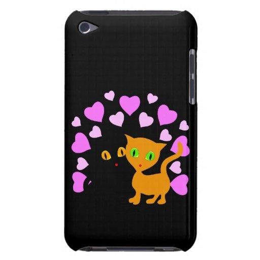 Kitty-Liebe iPod Case-Mate Hüllen