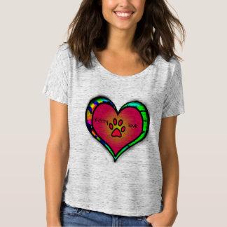 Kitty-Liebe-Shirt T-Shirt