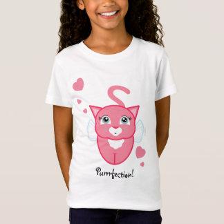 Kittykatzenamor VALENTINE-MÄDCHEN-Geschenk-Shirt T-Shirt