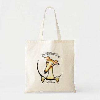 Kitz-Windhund IAAM Budget Stoffbeutel