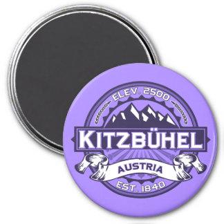 Kitzbühel Logo Runder Magnet 7,6 Cm