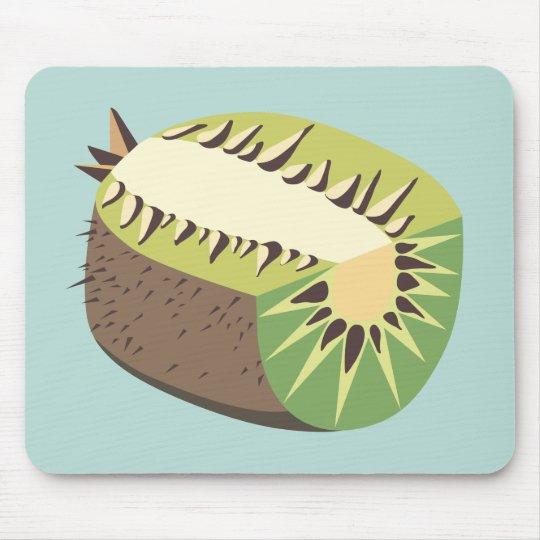 Kiwi fruit illustration mousepad