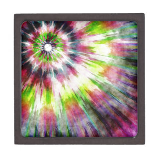 Kiwi-gefärbte KrawatteWatercolor Schachtel