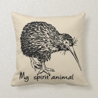 Kiwi ist mein Geisttier Kissen