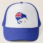 Kiwi Neuseeland-Flaggenfußball-Fußballgeschenke Truckerkappe