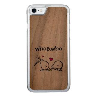 Kiwi-Paare Carved iPhone 8/7 Hülle