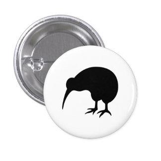 """""""Kiwi-"""" Piktogramm-Knopf Runder Button 3,2 Cm"""