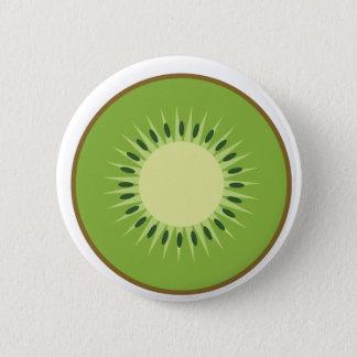 Kiwi Runder Button 5,7 Cm