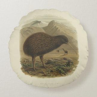Kiwi-rundes Kissen