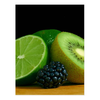 Kiwi und Limones Postkarten