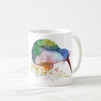 Kiwi-Vogel-Kunst Kaffeetasse