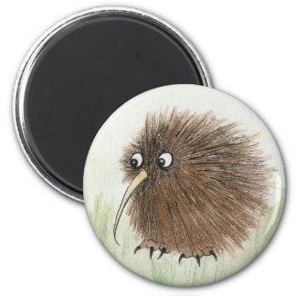 Kiwi-Vogel Runder Magnet 5,1 Cm