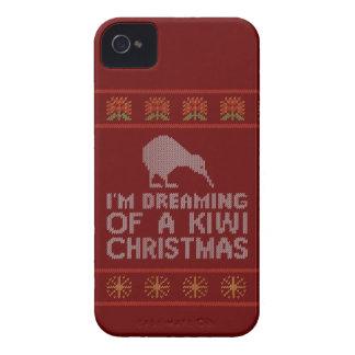 Kiwi-Weihnachten iPhone 4 Case-Mate Hüllen