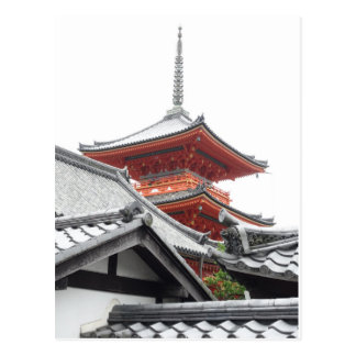 Kiyomizu-dera Kyoto Postkarte