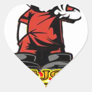 KJP Logo Herz-Aufkleber