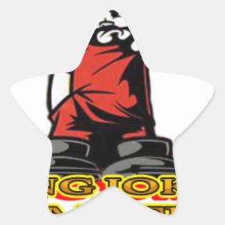 KJP Logo Stern-Aufkleber