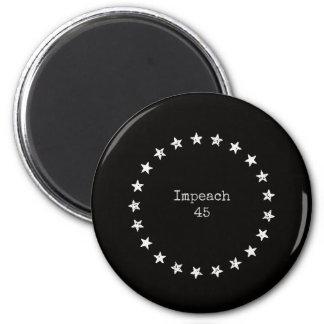 Klagen Sie Magneten 45 an Runder Magnet 5,7 Cm