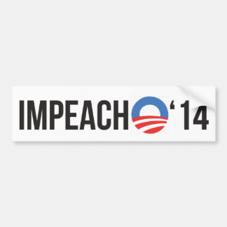 Klagen Sie Obama '14 an Autoaufkleber
