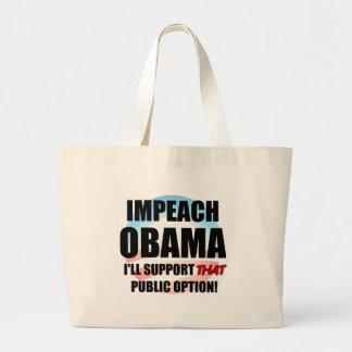Klagen Sie Obama an Tragetasche