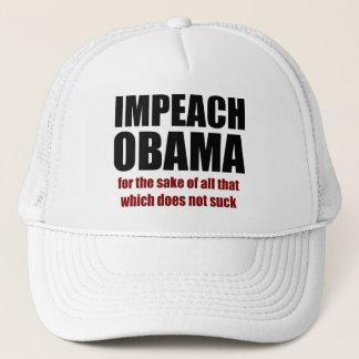 Klagen Sie Obama an Truckerkappe