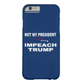 Klagen Sie Trumpf an Barely There iPhone 6 Hülle