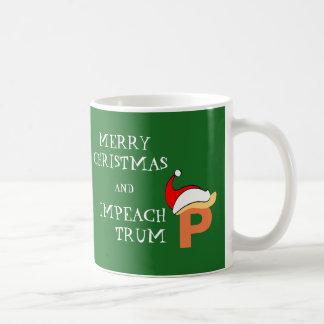 Klagen Sie Trumpf an Kaffeetasse