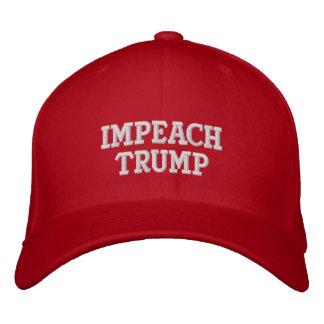 Klagen Sie Trumpf-Baseballmütze an Bestickte Kappe