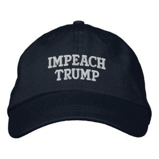 Klagen Sie Trumpf-Hut an Bestickte Baseballkappe