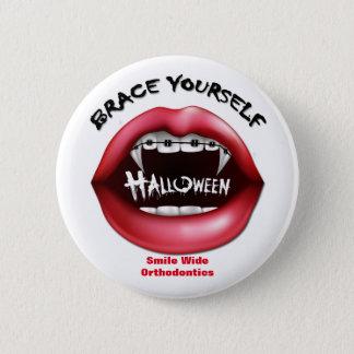 Klammer sich - Halloween Runder Button 5,7 Cm