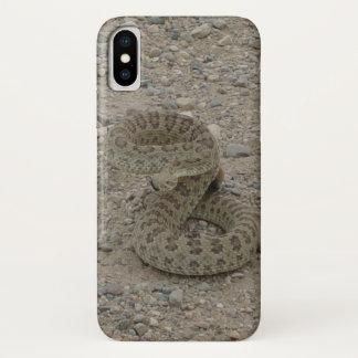 Klapperschlange des Grasland-R0009 Iphone 8/7 iPhone X Hülle