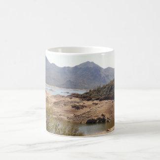Klapperschlangen-Bucht-Kaffeetasse/Tasse Kaffeetasse