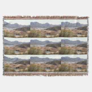 Klapperschlangen-Bucht-Wurfs-Decke Decke